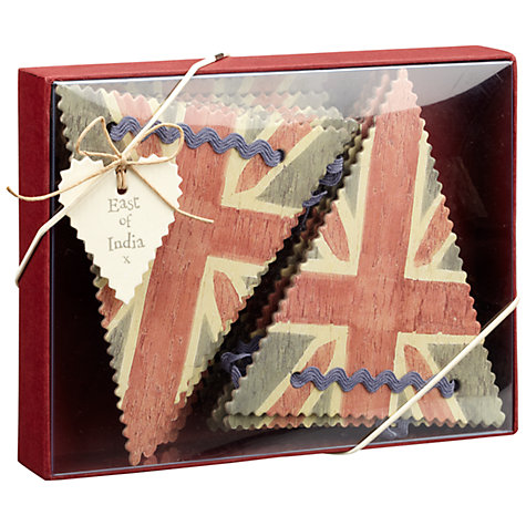Buy East of India Union Jack Bunting Paper Online at johnlewis.com