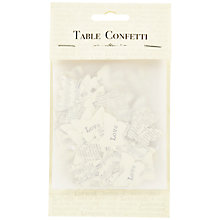 Buy East of India Wedding Table Confetti, Butterflies Online at johnlewis.com