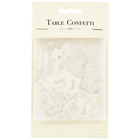 Buy Wedding Table Confetti, Butterflies Online at johnlewis.com