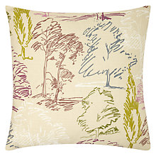 Buy Sanderson Aspen Cushion, Blackcurrant Online at johnlewis.com