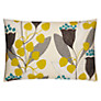 Sanderson Bell Flower Cushion, Green / Grey