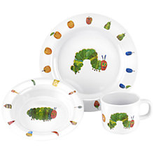 Buy Portmeirion The Very Hungry Caterpillar Melamine 3 Piece Dinner Set Online at johnlewis.com