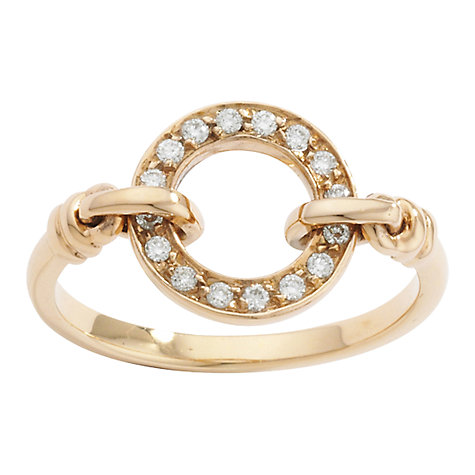 Buy London Road Meridian Circle Diamond Set Ring Online at johnlewis.com