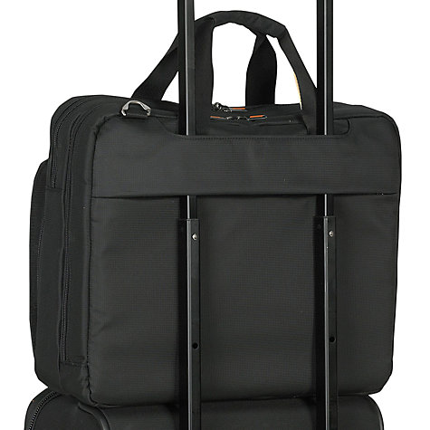 "Buy Briggs & Riley Speedy 13"" Laptop Mini Briefcase, Black Online at johnlewis.com"