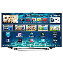 "Buy Samsung UE55ES8000 LED HD 1080p 3D Smart TV, 55"" with Freeview/Freesat HD and Voice/Motion Control Online at johnlewis.com"