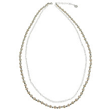 Buy Jou Jou Pearl and Silver Ball Necklace Online at johnlewis.com