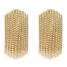 Buy Finesse Textured Clip Earrings Online at johnlewis.com