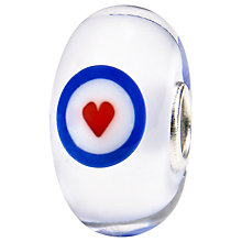 Buy Trollbeads Benevolent Fund Heart Bead, Silver Online at johnlewis.com