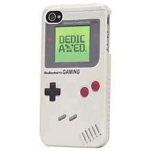 Buy Tshirt Store iPhone 4 Case, Gameboy Design Online at johnlewis.com