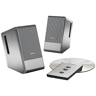 Image of Bose® MusicMonitor Computer Speakers, Silver