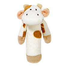 Buy Teddykompaniet Cow Rattle Online at johnlewis.com