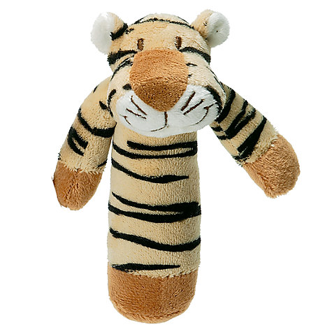 Buy Teddykompaniet Tiger Rattle Online at johnlewis.com