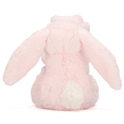 Buy Jellycat Bashful Bunny Baby Soother Soft Toy, Pink Online at johnlewis.com