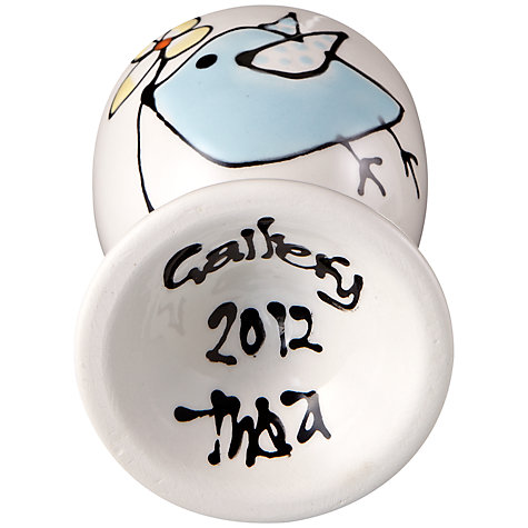 Buy Gallery Thea Personalised Egg Cup, Bird Online at johnlewis.com