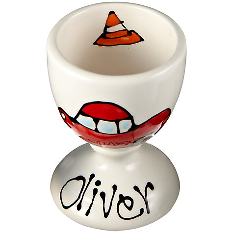 Buy Gallery Thea Personalised Egg Cup, Car Online at johnlewis.com