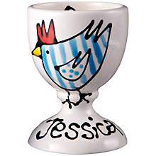 Buy Gallery Thea Personalised Egg Cup, Chicken Online at johnlewis.com