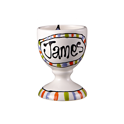 Gallery Thea Personalised Egg Cup, Star