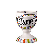 Buy Gallery Thea Personalised Egg Cup, Star Online at johnlewis.com