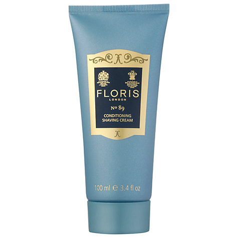 Buy Floris No.89 Conditioning Shaving Cream, 100ml Online at johnlewis.com