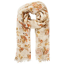 Buy John Lewis Branched Floral Wool Scarf Online at johnlewis.com