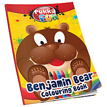 Buy Pukka Benjamin Bear Colouring Book Online at johnlewis.com