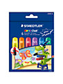 Staedtler Glitter Club Gel Crayons, Pack of 6