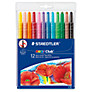 Staedtler Wax Twister Colouring Pens, Pack of 12