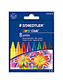 Staedtler Club Jumbo Wax Crayons, Pack of 8