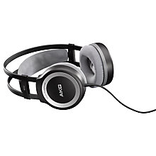 Buy AKG K512 MKII Full Size Headphones, Black/Silver Online at johnlewis.com