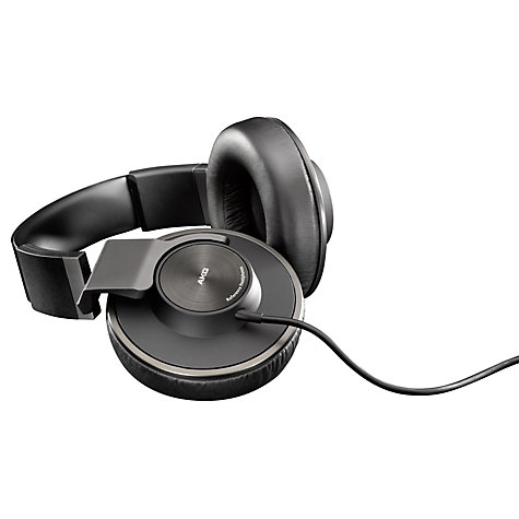 Buy AKG K550 Closed-Back Full Size Headphones, Black Online at johnlewis.com