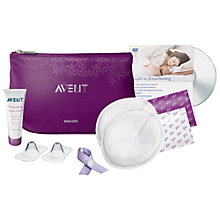 Buy Philips Avent Breast Care Essentials Set Online at johnlewis.com