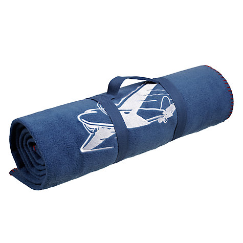 Buy little home at John Lewis Happy Landings Fleece Throw, Multi Online at johnlewis.com