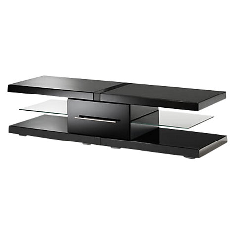 Buy Techlink Echo EC130B TV Stand for up to 65-inch TVs, Black Online at johnlewis.com