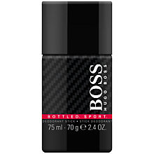 Buy Hugo Boss Boss Bottled Sport Deo Stick, 75ml Online at johnlewis.com
