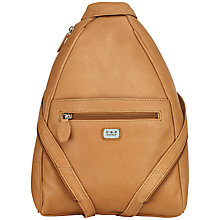 Buy O.S.P OSPREY Ayres Leather Backpack, Nut Online at johnlewis.com