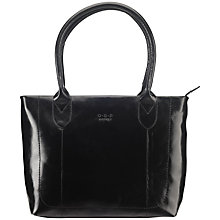 Buy O.S.P OSPREY The Jura A4 Work Tote Handbag, Black Online at johnlewis.com