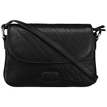 Buy OSPREY LONDON Monroe Leather Mini Across Body Handbag, Black Online at johnlewis.com
