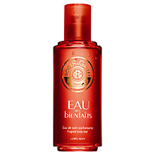 Buy Roget & Gallet Eau De Bienfaits Body Mist, 100ml Online at johnlewis.com