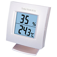 Buy NSA Digital Hygrometer and Thermometer Online at johnlewis.com