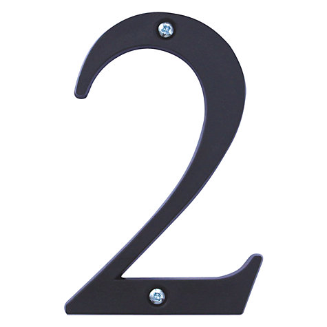Buy ashortwalk Recycled Numeral 2 Online at johnlewis.com