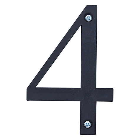 Buy ashortwalk Recycled Numeral 4 Online at johnlewis.com