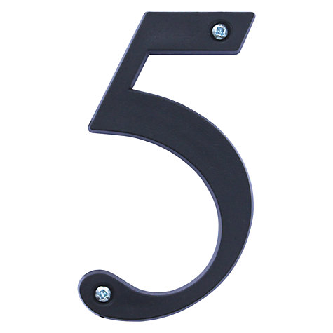 Buy ashortwalk Recycled Numeral 5 Online at johnlewis.com