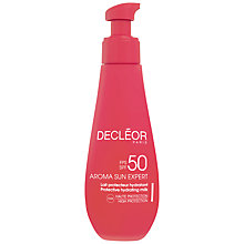 Buy Decléor Aroma Sun Expert Ultra Protective Anti-Wrinkle Cream SPF50 - Body, 150ml Online at johnlewis.com