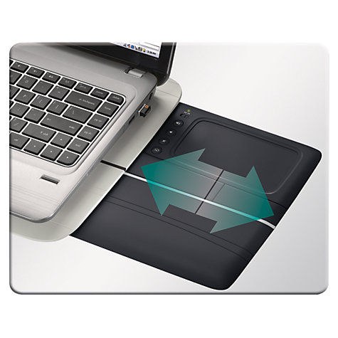Buy Logitech N600 Touch Lapdesk Online at johnlewis.com