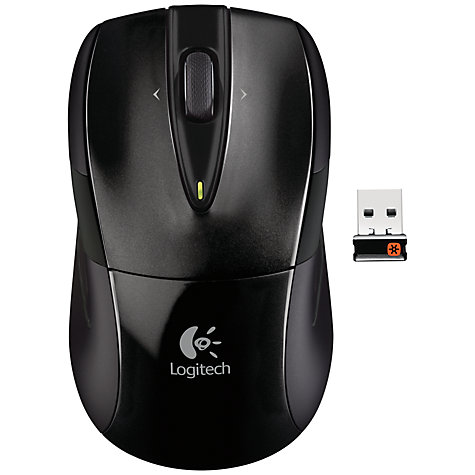 Buy Logitech M525 Wireless Mouse, Black Online at johnlewis.com