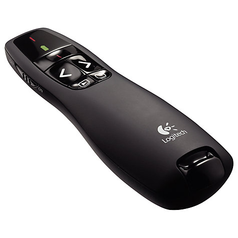 Buy Logitech R400 Wireless Presenter Online at johnlewis.com