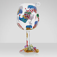 Buy Lolita Elf Shoes Wine Glass Christmas Tree Decoration Online at johnlewis.com