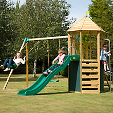 Buy TP Castlewood Tower, Den Pack and Double Swing Set Online at johnlewis.com