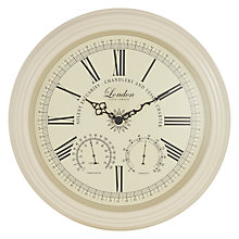 Buy Beaulieau Clock, Dia.42cm Online at johnlewis.com