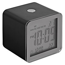 Buy Lexon Cube Sensor Clock Online at johnlewis.com